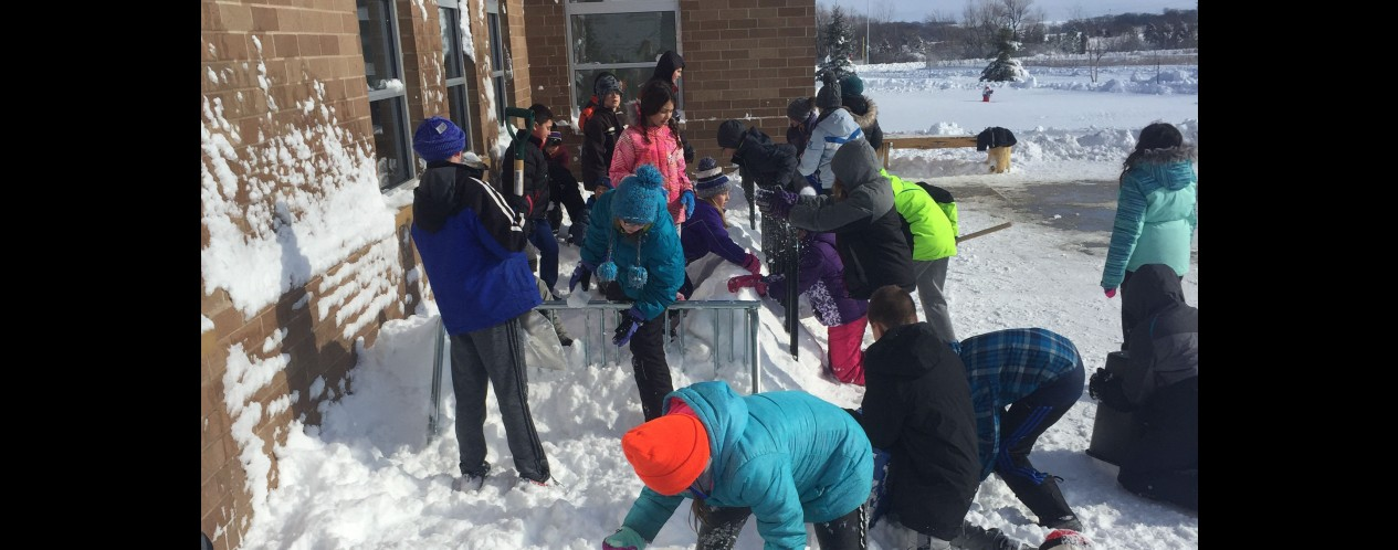 Snow Fun with 5th Grade